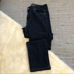 American eagle hi-rise skinny jeans sz.12